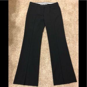 Theory sz 8 wool blend black pants